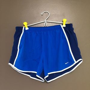 Nike Dry Fit running shorts - blue - size large